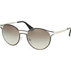 Luxottica Fashion Brillen Vertriebs GmbH Prada Cinema PR 62Ss 1Ab-0A7, Round Sonnenbrillen, Schwarz