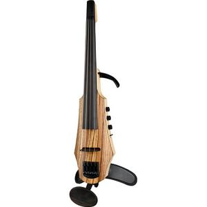 NS Design CR4-VA-ZW Zebra Wood Viola
