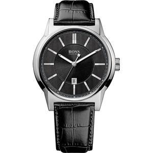 Boss Hugo Boss 1512911 Herrenuhr schwarz silber 44 mm