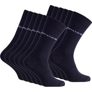 12er Pack Pierre Cardin Herren Business-Socken Blau Pc8010