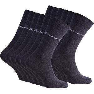 12er Pack Pierre Cardin Herren Business-Socken Anthrazit Pc8010