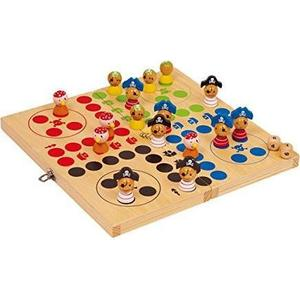 Legler Small Foot Company 2430 - Ludo Pirateninsel, Würfelspiel