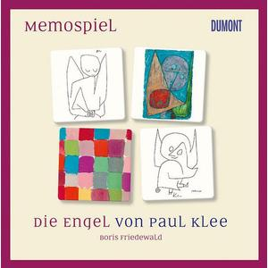 DuMont Buchverlag Memospiel. Die Engel von Paul Klee