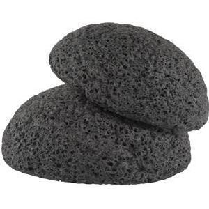 Erborian Detox Reinigung mit Kohlepulver Konjak-Schwamm mit Bambuskohle Sanfter Peeling-Schwamm 1 Stk.
