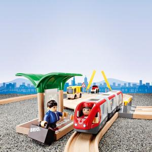BRIO Holzeisenbahn ´´Reisezug´´ Modell: 33209, 33-teilig (ab 3 Jahren)