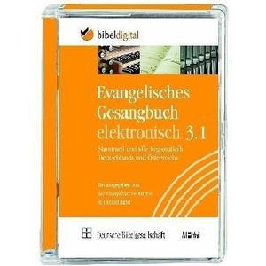 Evangelisches Gesangbuch elektronisch, Version 3.1, 1 Cd-Rom