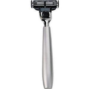 ERBE Shaving Shop Rasiererhalter Rasierer Mach 3 Metallhalterung silber matt 1 Stk.