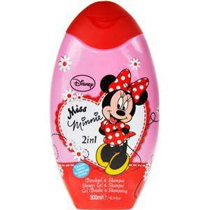 Disney Pflege Mickey Minnie 2 in 1 Duschgel + Shampoo 300 ml