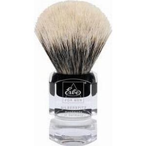 ERBE Shaving Shop Rasierpinsel Rasierpinsel Silberspitz, Plastikgriff eckig groß 1 Stk.