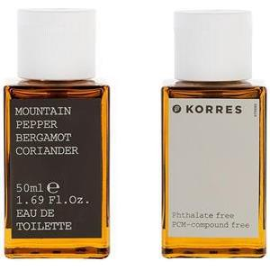 Korres Herrendüfte Mountain Pepper, Bergamot, Coriander Eau de Toilette Spray 50 ml