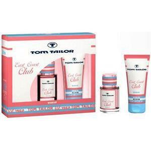 Tom Tailor Damendüfte East Coast Club Women  Geschenkset Eau de Toilette Spray 30 ml + Shower Gel 150 ml 1 Stk.