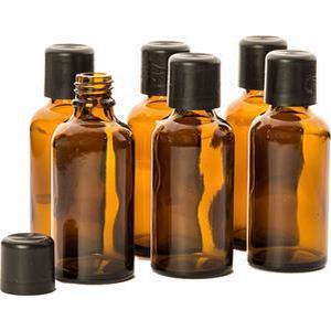 Primavera Home Accessoires & Duftgeräte Leerflaschenset - mit Etiketten zum Selbstbeschriften 6 x 50 ml