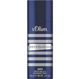 s.Oliver Herrendüfte Outstanding Men Deodorant Spray 150 ml