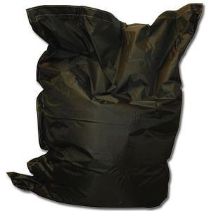 1-2-fun Bean Bag in schwarz - Kissen für Indoor und Outdoor - Größe: 140x180 cm