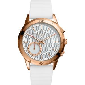 Kunststoff Armbanduhr Fossil Q Modern Pursuit Hybrid FTW1135 Analog Quartz Uhr Unisex
