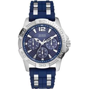Kunststoff Guess W0366G2 Analog Männer Quartz Uhr