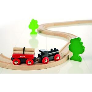 BRIO Holzeisenbahn ´´Starter Set´´ Modell: 33042, 18-teilig (ab 3 Jahren)