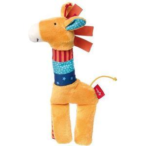 Sigikid * 41479 * Quietsch-Greifling Giraffe, PlayQ Basic Steps