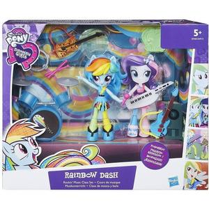 Hasbro My Little Pony Equestria Girls Minis Rainbow Dash Rockin' Music Class Set B9484