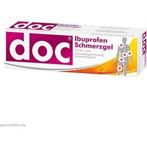 Hermes Arzneimittel Doc Ibuprofen Schmerzgel 100g