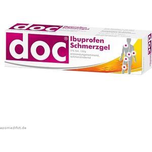 Hermes Arzneimittel Doc Ibuprofen Schmerzgel 150g