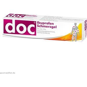 Hermes Arzneimittel Doc Ibuprofen Schmerzgel 50g