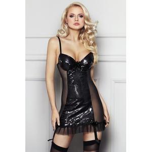 Kleid Florencia in schwarz von 7-Heaven : schwarz L