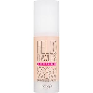 """Benefit Hello Flawless Oxygen Wow Flüssiges Make Up SPF 25 Farbton Champagne """"Cheers to Me""""  30 ml"""