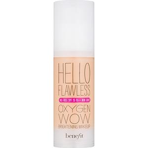 """Benefit Hello Flawless Oxygen Wow Flüssiges Make Up SPF 25 Farbton Ivory """" I´m Pure 4 Sure""""  30 ml"""