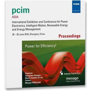 VDE PCIM Asia 2016