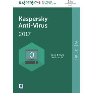 Anti-Virus DACH Edition 1-Desktop 1 year Base Box