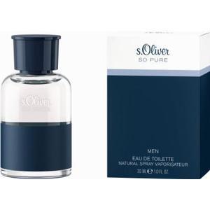 ALIVA-APOTHEKE S.OLIVER SO PURE MEN EDT 30 ml