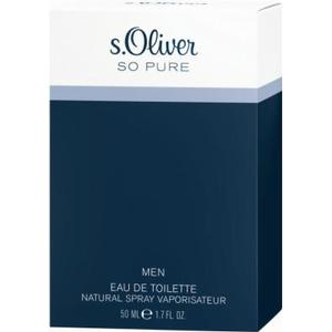 ALIVA-APOTHEKE S.OLIVER SO PURE MEN EDT 50 ml