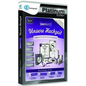 Avanquest CraftArtist Unsere Hochzeit, 1 DVD-ROM