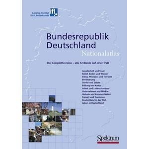 Spektrum der Wissenschaft Nationalatlas Bundesrepublik Deutschland - Die Komplettversion: alle 12 Bände auf einer DVD