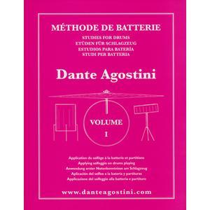 Dante Agostini Méthode De Batterie Vol.1