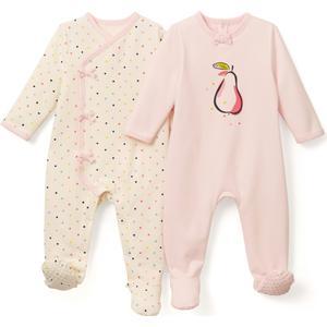 2er-Pack Pyjamas aus Sweatware, 0 Monate - 3 Jahre