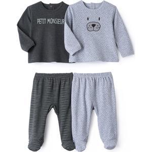 2er-Pack 2-teilige Pyjamas, 036 Monate