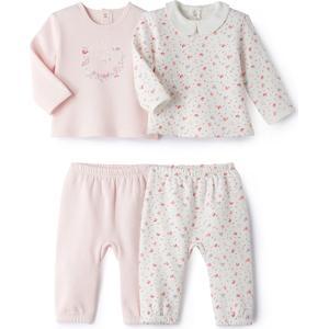 2er-Pack 2-teilige Pyjamas aus Sweatware, 036 Monate