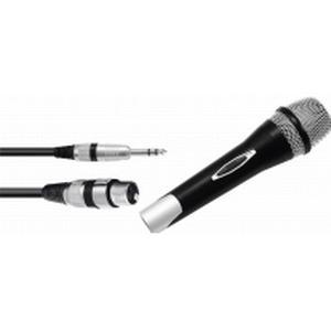 13000450 Omnitronic Gesangs-Mikrofon Partymic-1 Übertragungsart:Kabelgebunden inkl. Kabel, Schalter