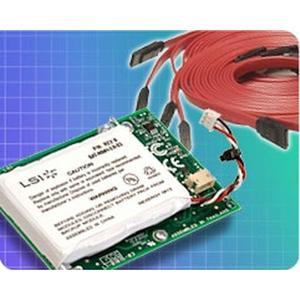 0.8m LSI 3ware mini SAS x4 (Sff-8087) Kabel mit Seitenband