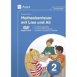 2. Klasse, Dvd-Rom / Komm mit ins ... Matheabenteuer mit Lisa und Ali