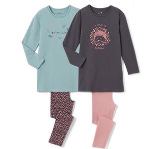 2er-Pack Pyjamas, 2-12 Jahre