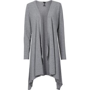 RAINBOW Shirtjacke langarm in grau für Damen von bonprix