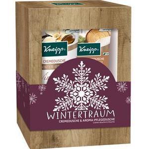 Kneipp Pflege Duschpflege Geschenkset Wintertraum Aroma-Pflegedusche Eingekuschelt 200 ml + Cremedusche Winterpflege 200 ml 1 Stk.