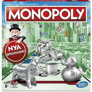 Hasbro Monopoly Classic Game (Svenska)
