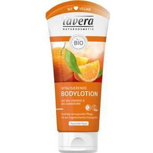 Lavera Körperpflege Body SPA Body Lotion und Milk Bio-Orange & Bio-Sanddorn Vitalisierende Body Lotion 200 ml