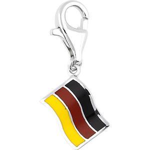 Esprit Charm 925 Flagge im Deutschland-Design ESZZ90472A Kettenanhänger mehrfarbig Damen Gr. one size