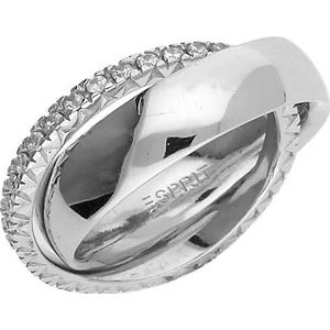 Esprit 2-teiliger Fingerring Brilliance Couple ESRG91774F Ringe silber Damen
