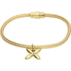 Esprit Armband mit Blüten-Anhänger ESBR11450B185 Armbänder gold Damen Gr. one size